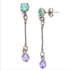 Sabika Visual Romance long earrings
